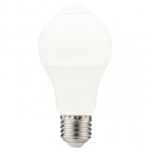 Bec LED Hoff clasic A60 E27 10W 800lm lumina rece 6000 K, cu senzor