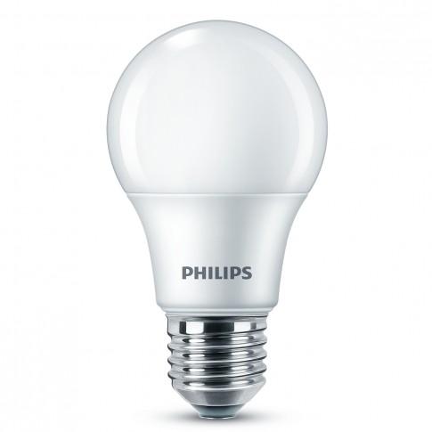 Bec LED Philips clasic A60M E27 8W 806lm lumina calda 2700 K - 3 buc