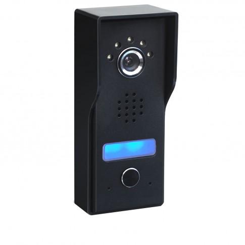 Camera exterioara pentru videointerfon Well VDPC-S01BK-WL, infrarosu