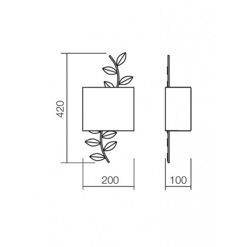 Aplica Kardinal 02-895, 1 x E14