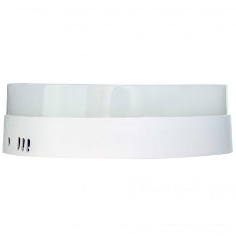 Aplica LED aparenta Hepol 18W rotunda lumina rece 6500 K, IP20