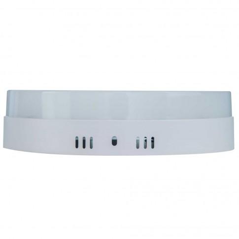 Aplica LED aparenta Hepol 24W rotunda lumina rece 6500 K, IP20