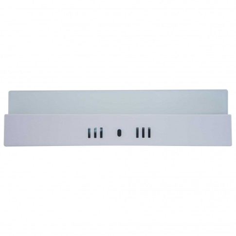 Aplica LED aparenta Hepol 24W patrata lumina rece 6500 K, IP20