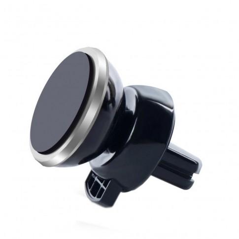 Suport auto pentru telefon Carmax, universal, magnetic, negru