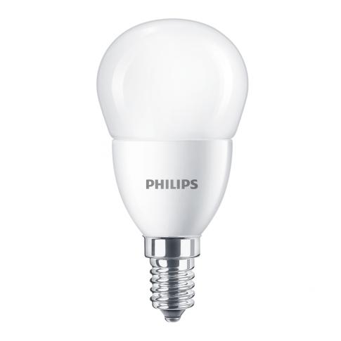 Bec LED Philips mini P48 E14 7W 806lm lumina calda 2700 K