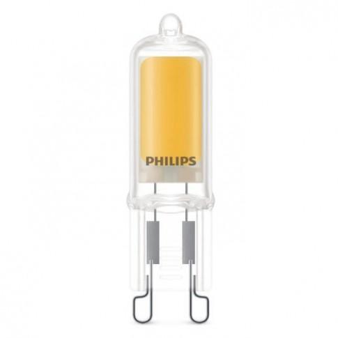 Bec LED Philips mini G9 2W 200lm lumina calda 2700 K