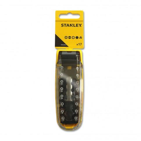Set 16 biti pentru insurubare si adaptor Stanley STA62635-XJ