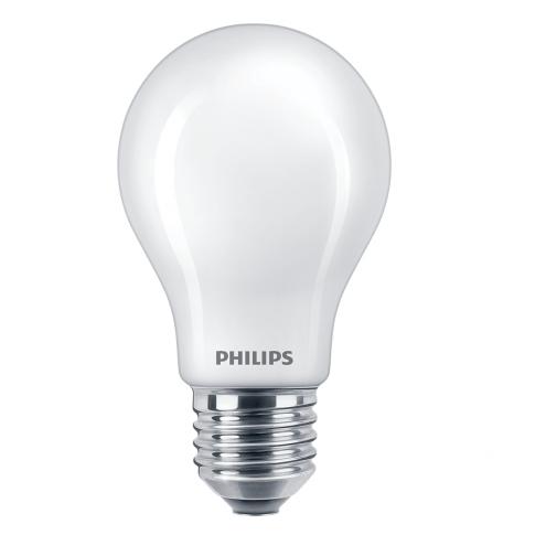 Bec LED Philips clasic A60 E27 8.5W 1055lm lumina calda 2700 K