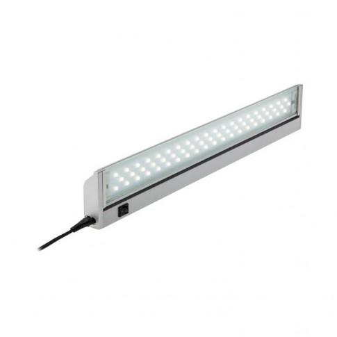 Corp iluminat LED XTURN TN01, 10W, 949 lm, aparent, 57.5 cm, IP20, lumina neutra, argintiu