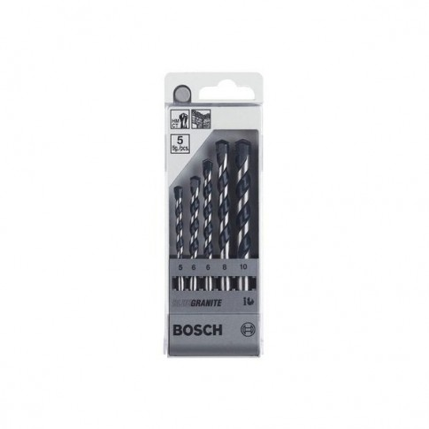Set 5 burghie CYL-5, pentru beton, Bosch 2608588165
