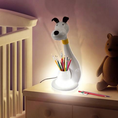 Lampa birou LED LA9/D, 6W, caine, alba