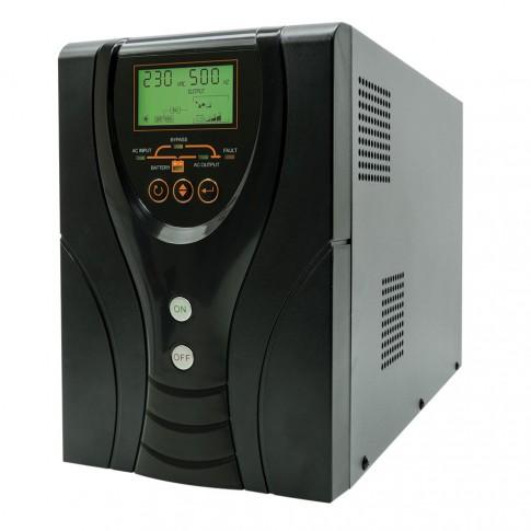 Sursa UPS cu LCD pentru centrale termice SilverCloud PNI-SCP850 850 VA / 600 W
