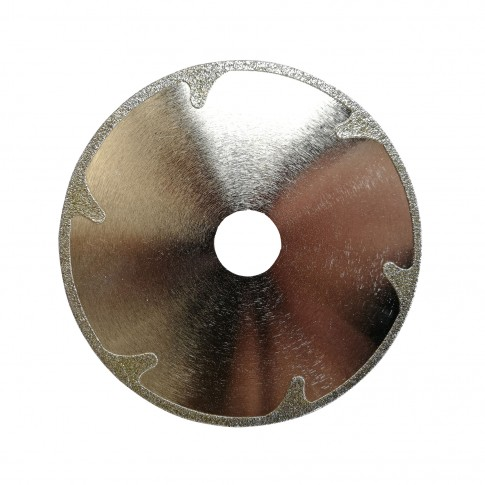 Disc diamantat, continuu, pentru debitare marmura, Dupu Special, 125 x 22.23 x 1.4 mm