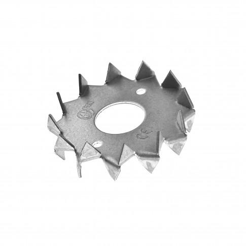 Saiba cu buldog, din otel, 48 mm