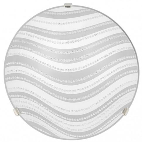 Plafoniera Dune LY-6075, 1 x E27, 300 mm, alba