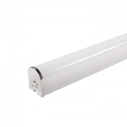 Corp iluminat LED Hepol 20W, 1600 lm, aparent, 90 cm, IP40, lumina rece, intrerupator, alb