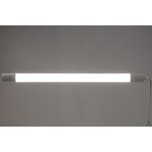 Corp iluminat LED liniar Hoff, 18W, 1500 lm, 65 cm, IP65, lumina neutra