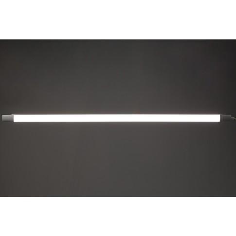 Corp iluminat LED liniar Hoff, 36W, 3200 lm, 126 cm, IP65, lumina neutra