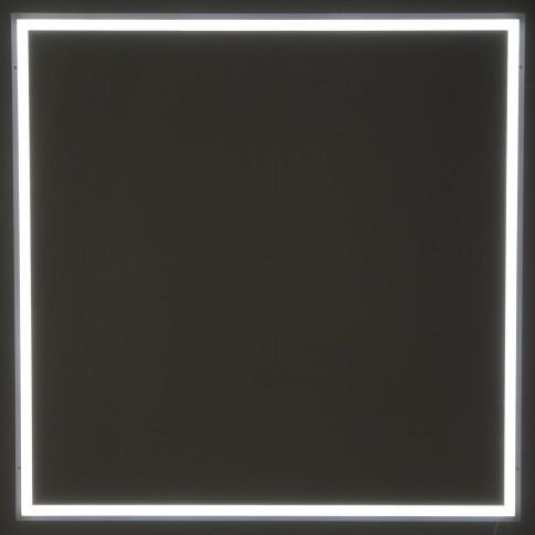 Corp iluminat LED Hoff, 35W, 4200 lm, 59.1 x 59.1 cm, lumina rece, tavan fals