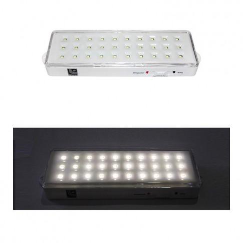 Lampa emergenta 30 LED 7H/10H nepermanent 19-914/N