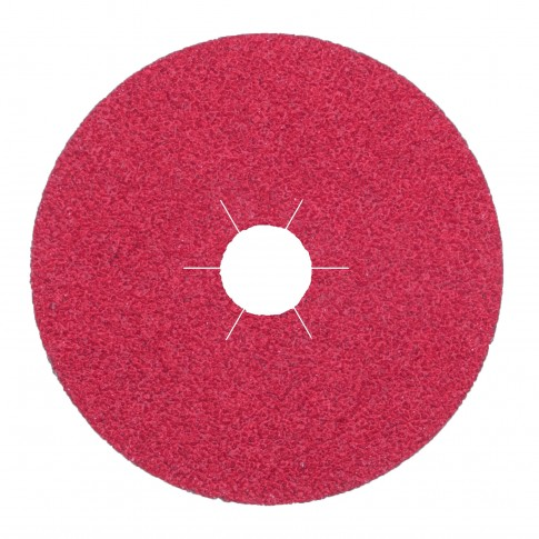 Disc abraziv, pentru otel, Klingspor FS 964 ACT, 125 x 22 mm, granulatie 80