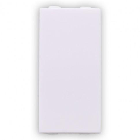 Obturator Hoff 1 modul, alb, 46 x 22 x 20 mm