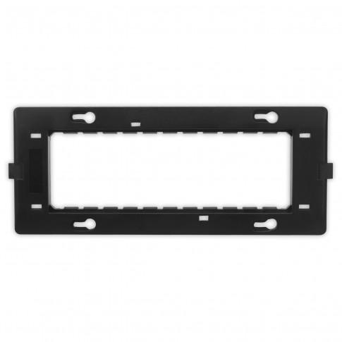 Suport Hoff, 6 module, 180 x 69 x 13 mm, pentru rama priza / intrerupator