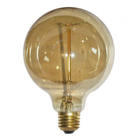 Bec decorativ glob D125 14-75404 E27 40W 130lm lumina calda 2200 K