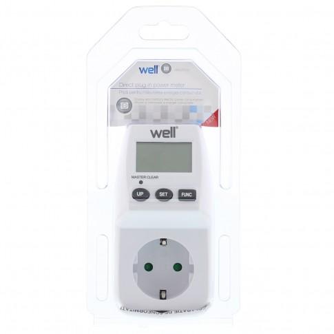 Priza masurare energie consumata Well ELPM-02-WL