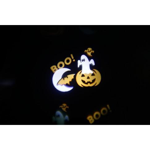 Proiector LED Craciun, exterior / interior, Hoff 58740005, 9W, multicolor