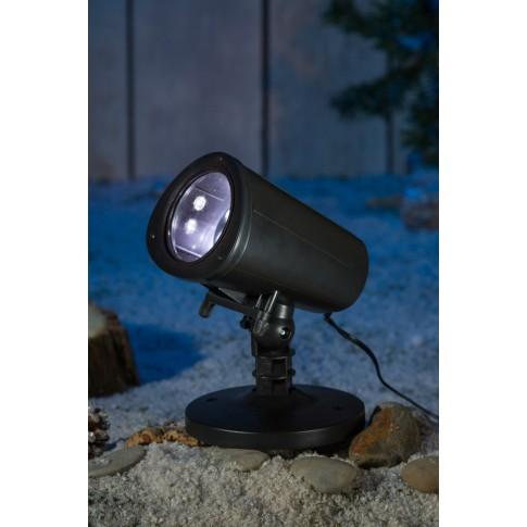 Proiector LED Craciun, exterior / interior, Hoff, multicolor, animat, 6 filme interschimbabile