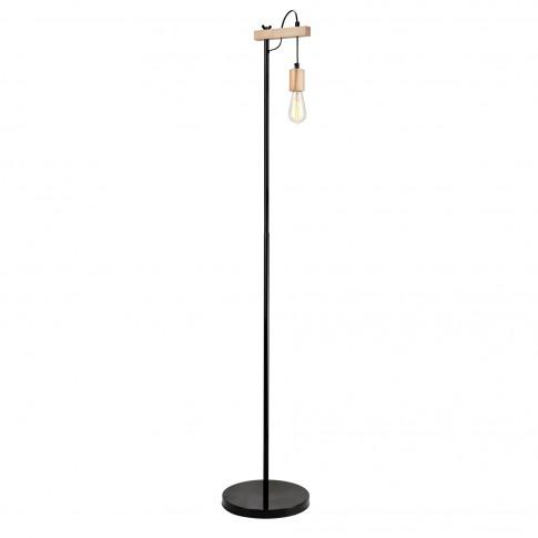 Lampadar Leon 34812, 1 x E27, 1640 mm, lemn