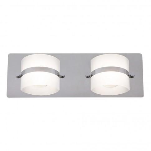 Aplica LED pentru baie Tony 5490, 2 x 5W, IP44, lumina neutra 4000 K, IP44