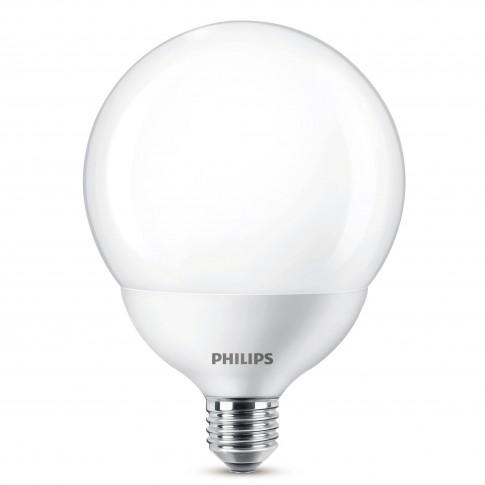 Bec LED Philips glob G120 E27 18W 2000lm lumina calda 2700 K