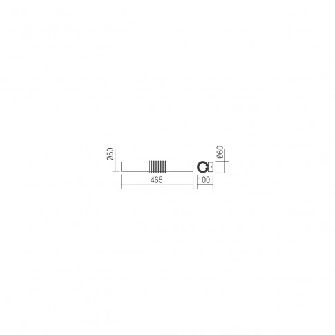 Aplica LED pentru baie Avance 01-1430, 12W, lumina neutra 4000 K, IP20