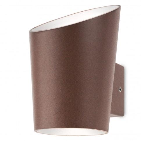 Aplica exterior cu LED Manbo 9099, 2 x 3W, maro inchis