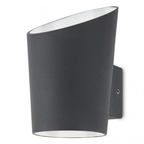 Aplica exterior cu LED Manbo 9098, 2 x 3W, gri inchis