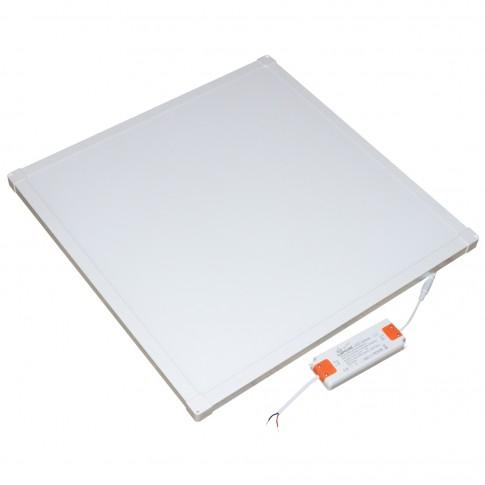 Panou LED slim Hepol, 40W, 3500 lm, aparent, 60 x 60 cm, IP20, lumina neutra