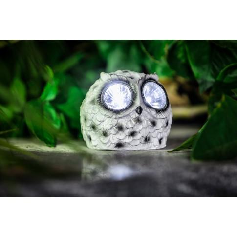 Lampa solara LED Hoff, bufnita, 110 x 95 mm, diverse modele