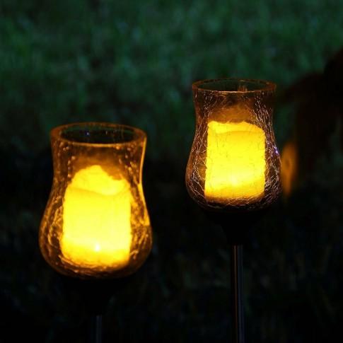 Lampa solara LED palpaitor Hoff, tulip, H 76 cm