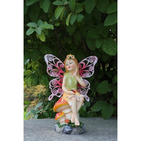 Lampa solara cu LED-uri colorate Hoff, fairy, H 28 cm, diverse modele