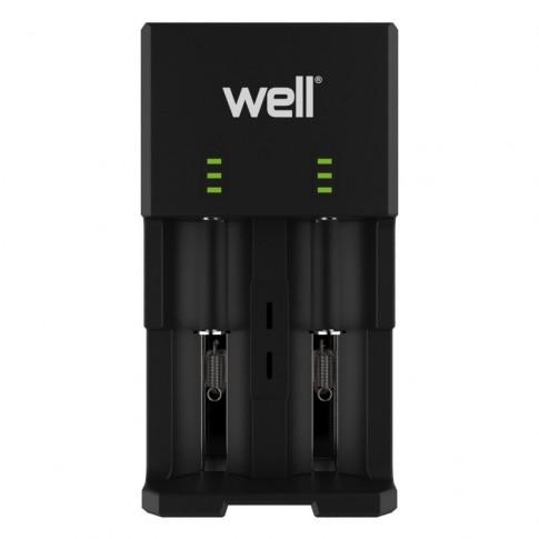 Incarcator acumulator LI-ION / NiMH Wise Well cu iesire USB
