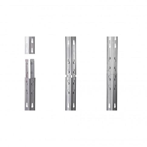 Raft sarma, pentru depozitare, Rism300 4N, 180 x 120 x 45 cm, 300 kg/polita