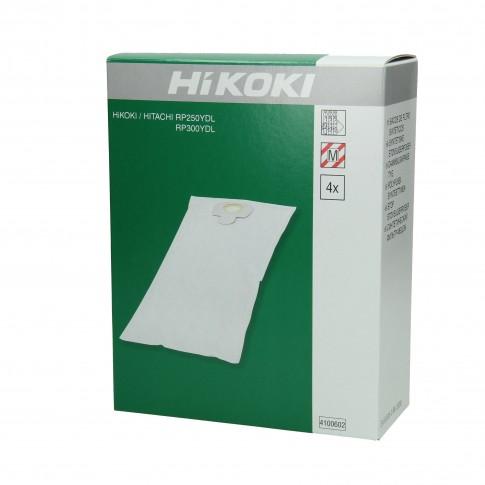 Saci textili, pentru aspirator Hikoki RP300YDL, set 4 bucati