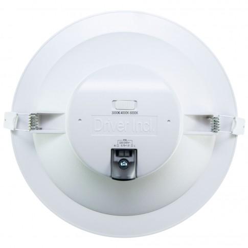 Spot LED incastrat Omega, 25W, 2500lm, dimabil, lumina calda / neutra / rece