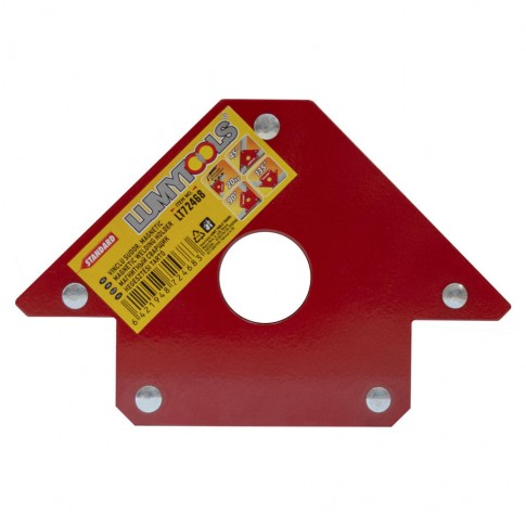 Vinclu pentru sudura, magnetic, Lumytools LT72468, 3 unghiuri 45-90-135, 20 kg