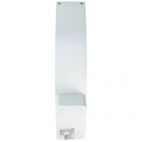 Aplica LED cu senzor Hepol, 10W, 750lm, lumina neutra 4000 K, IP54