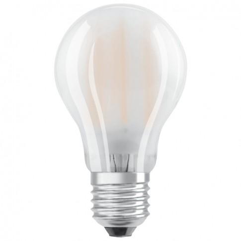 Bec LED filament Osram clasic A60 E27 6.5W 806lm lumina neutra 4000 K, mat - 2 buc