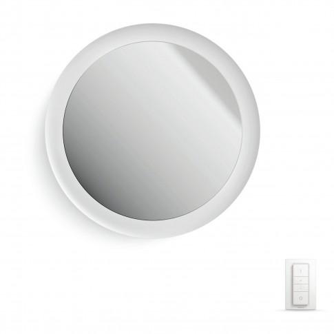 Aplica LED cu oglinda Hue Adore 3435731P7, 40W, 2400 lm, 24V, lumina calda sau rece, alba