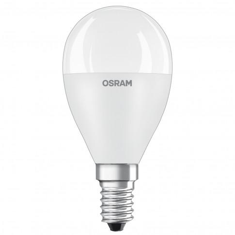 Bec LED Osram mini P60 E14 7.5W 806lm lumina calda 2700 K